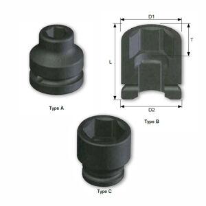 1 DRIVE metric Standard Length Impact Sockets 6 point