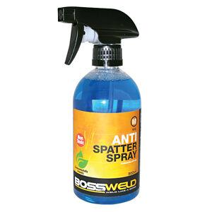 Antispatter spray water bottle
