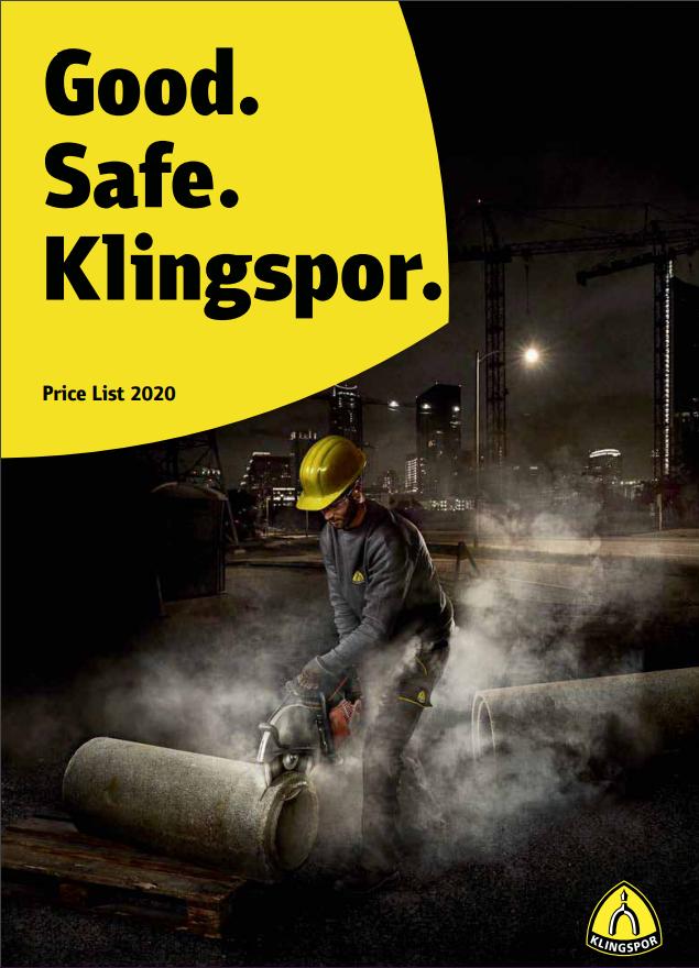 Klingspor front page